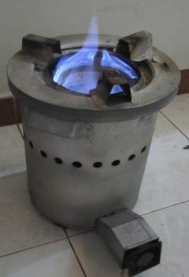 how to cook rice in stove