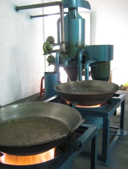 Gasifier with Drum Type Burner