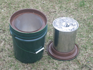 Green Pail Cooker