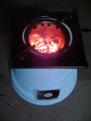 MAGH-CM1 T-LUD WOODGAS STOVE