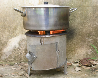 Cone Shaped Stove