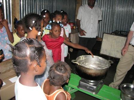 Haitian Orphans Approve!