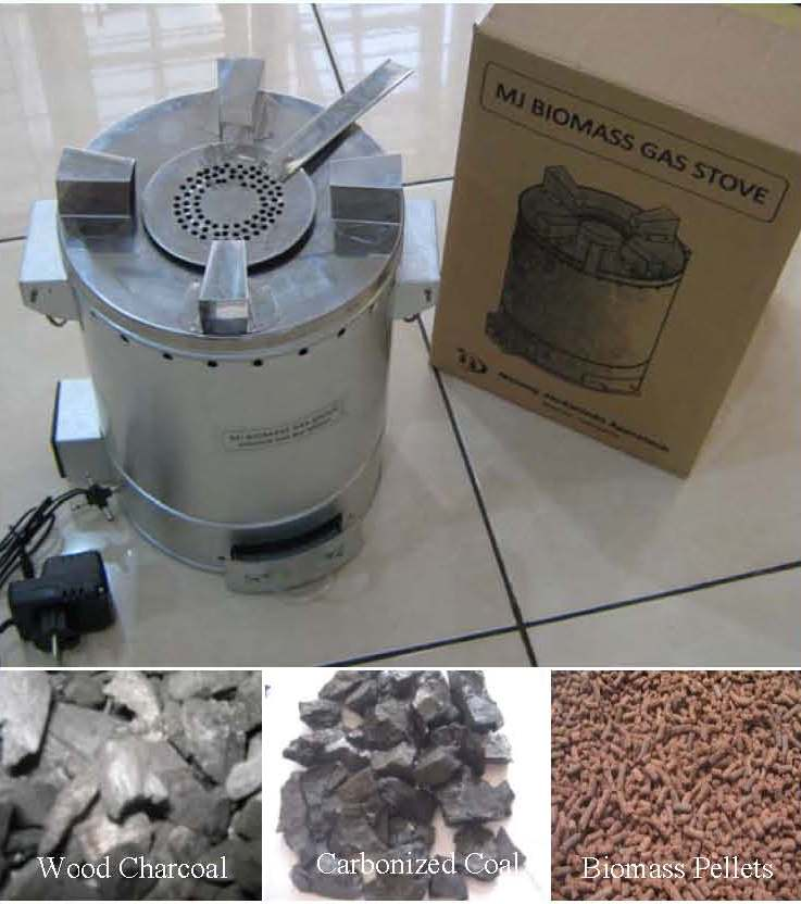 MJ Biomass Gas Stove