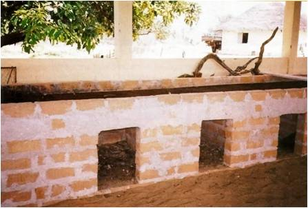 """Improved Chorkor oven"" in Kafountine (Senegal)"