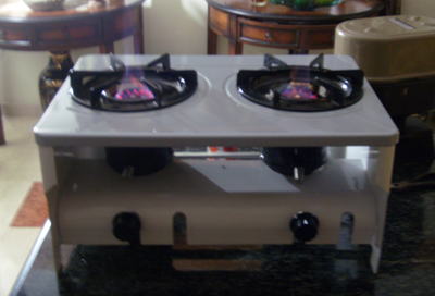 Two Burner ARISTO Stove
