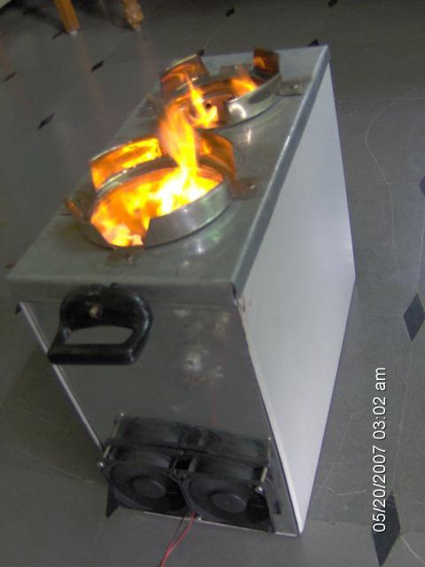 Smoke Burner Stove - Magh II - Twin Pots