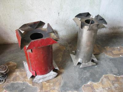 Two Haitian Pellet Stoves